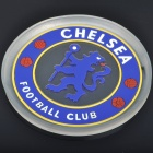 Football/Soccer Team Logo Shaped PVC Plastic Vehicle Anti-Slip Mat - Chelsea