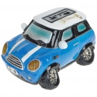 Cute Car Shaped USB Rechargeable MP3 Music Speaker with SD/USB - Blue