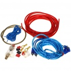 HT-168 Professional Speaker RCA Cable Amplifier Installation Wiring Kit for Car