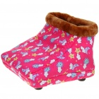 Stylish Cotton Cushion 2-Mode Electric Foot Warmer for Cold Winters (220V/Flat Plug)