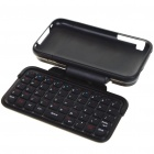 Mini Rechargeable Bluetooth Flip-Out QWERTY Keyboard with Plastic Case for Iphone 3gs