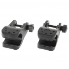Universal Adjustable Bicycle Mount for Flashlights (23MM Diameter / 2-Pack)