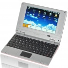 "7 ""TFT LCD Android 1.6 VIA8505 CPU WiFi UMPC Netbook - Pink (300MHz/2GB/USB/SD/LAN)"