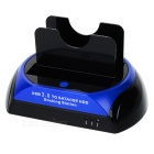 USB 3.0 2.5&quot;/3.5&quot; SATA/IDE Dual HDD Docking Station 