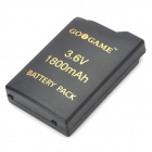 "3.6V ""1800mAh"" Replacement Battery Pack for PSP 1000"