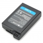 "3.6V ""1800mAh"" Replacement Battery Pack for PSP 1000 - Black"
