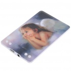 Compact Card Style USB Rechargeable MP3 Player - Cute Angel (4GB)