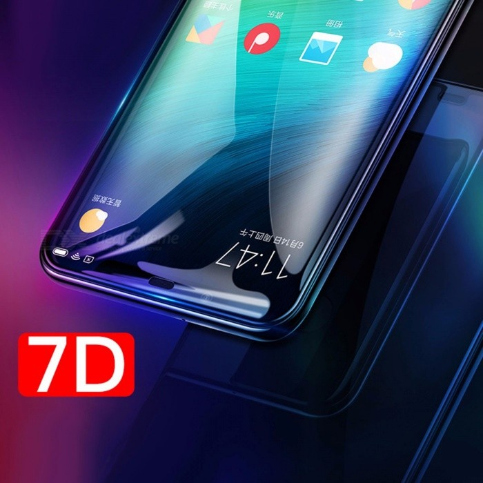 BASEUS Ultrathin Tempered Glass Film 7D Curved Surface Full Screen Protector For Xiaomi MI8 SE, MI8 Transparent/XIAOMI MI8