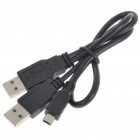 Slim USB HDD Hard Drive Data Transfer Cable Kit for XBox 360 - Black
