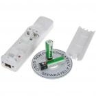 Remote with MotionPlus & Silicone Sleeve + Nunchuck Controller Set for Wii - White