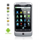 "A5000 3.5"" LCD Touch Screen Android 2.2 Dual SIM Dual Network Standby Quadband GSM TV Cell Phone"