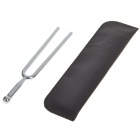 Fom A-440HZ Aluminum Alloy Tuning Fork with Leather Pouch