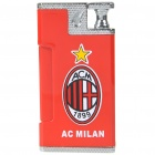 Practical Joke Shock-You-Friend Electric Shock Butane Jet Torch Lighter - AC Milan FC Logo (3xLR41)