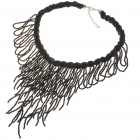 Fashion Elegant Necklace - Black (42~48CM Length)
