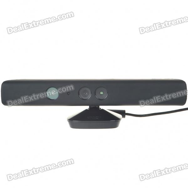 Protective Silicone Cover Case for Xbox 360 Kinect - Black