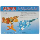 F-16 & SU-27 Fighter Planes Paper Jigsaw Puzzles Set