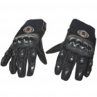 Full Finger Motorcycle Racing Gloves - Black (XL Size/Pair)