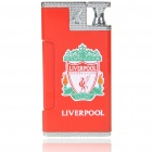Practical Joke Shock-You-Friend Electric Shock Butane Jet Torch Lighter - Liverpool FC Logo (3xLR41)