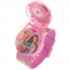 Snow White Style Electronic Watch with Music & Flashing Colorful Light - Pink (3 x AG3)