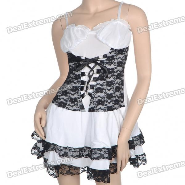 Sexy Fashion Cosplay Princess Tunic Dress Babydoll Sexy Lingerie - Color Assorted