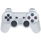 Designer's USB Rechargeable Dualshock Wireless Controller for PS3 - Silver