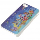 Protective PC Back Case with 3D Graphic for iPhone 4 - Disney Cartoon Figures (Multi-Color)
