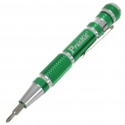 9-in-1 Handy Precise Screwdrivers Set - Green