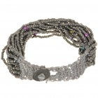 Vintage Charming Women Ladies Girl Bracelet - Silver Grey