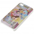 Protective PC Back Case with 3D Graphic for iPhone 4 - Snow White (Multi-Color)