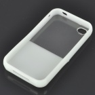Designer's Protective Back Case for iPhone 4 - White