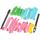 Salon Hair PP Plastic Rollers Curlers Set (16-Curler)
