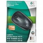Genuine Logitech M215 2.4GHz Wireless Optical Mouse with USB Receiver - Black (1*AA)