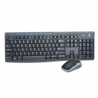 Genuine Logitech MK260 2.4GHz Wireless Keyboard & Mouse Combo with USB Receiver (2 x AAA + 1 x AA)