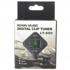 LT-650 Mini Digital Clip-On Chromatic Tuner (1 x CR2032)