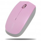 A20 2.4GHz Wireless Optical Mouse with USB Receiver - Pink (1*AA)
