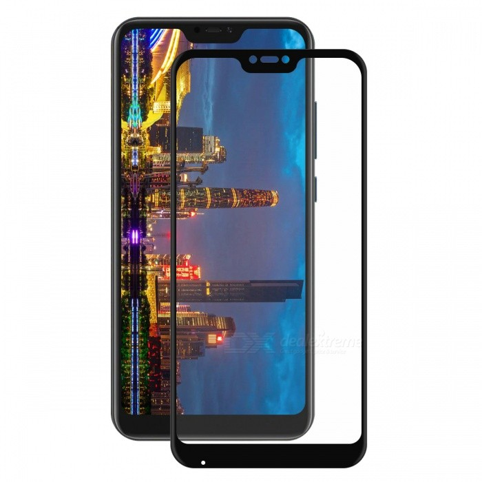 Hat-Prince 0.2mm 9H 3D Tempered Glass Full Cover Protector for XIAOMI A2 Lite