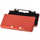 Protective Aluminum Case for Nintendo 3DS - Fire Red