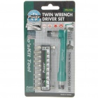 Twin Wrench Screw Driver Set Toolkit (10-in-1)