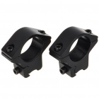 Metal Bracket Mount with Hex Wrench for M2007 Gun (Pair/25.4MM-Caliber)