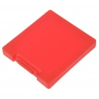 Protective Plastic Game Card Cartridge Cases for Nintendo DS - Red (2-Pack)