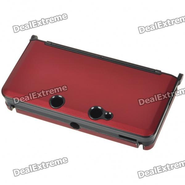 Protective Aluminum Case for Nintendo 3DS - Deep Red hori retro zelda hard pouch for new 3ds xl and nintendo 3ds xl