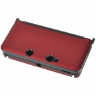 Protective Aluminum Case for Nintendo 3DS - Deep Red