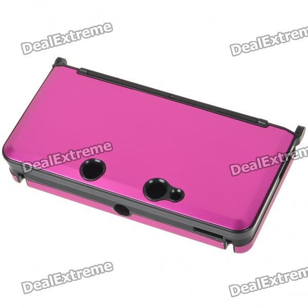 Protective Aluminum Case for Nintendo 3DS - Deep Pink