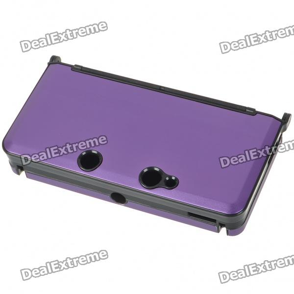 Protective Aluminum Case for Nintendo 3DS - Purple