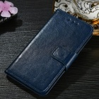 Protective PU + TPU Flip Open Case For Huawei P20 LITE/NOVA 3E, P20 PRO, P20, Cell Phone Case With Card Slots, Stand Dark Blue/P20 LITE/NOVA 3E