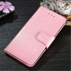 Protective PU + TPU Flip Open Case For Huawei P20 LITE/NOVA 3E, P20 PRO, P20, Cell Phone Case With Card Slots, Stand Pink/P20 LITE/NOVA 3E