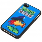 Plants vs. Zombies Protective Back Case with Screen Protector Set for iPhone 4 - Pirate Peashooter