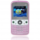 "Q8 2.0"" LCD Dual-SIM Dual-Network Standby Quadband GSM TV Cell Phone with FM/Flashlight - Pink"