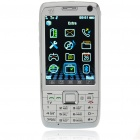 "E71 3,0 ""Touch Screen Dual-SIM-Dual-Standby-Netzwerk Quadband GSM TV Handy mit JAVA - White"