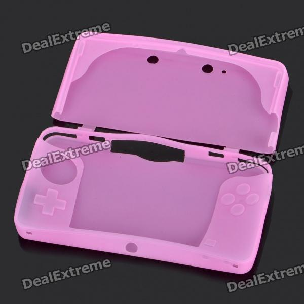 Protective Silicone Case for Nintendo 3DS - Pink